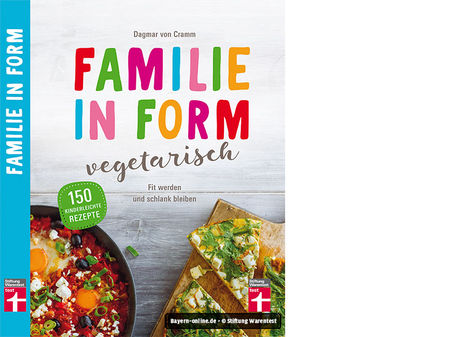 Familie in Form vegetarisch