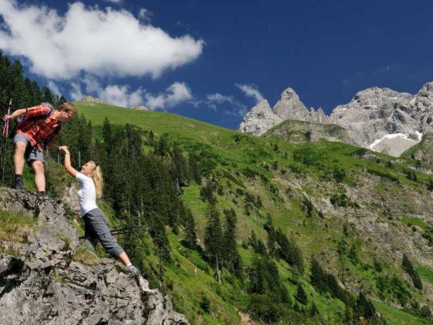 Wandern Deutschland Berge